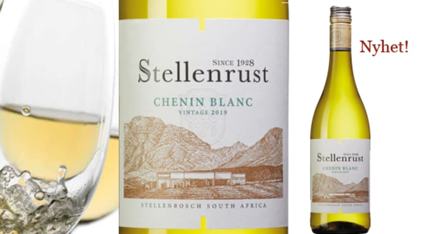 Stellenrust Chenin Blanc - En genuin och smakfull nyhet i fasta sortimentet
