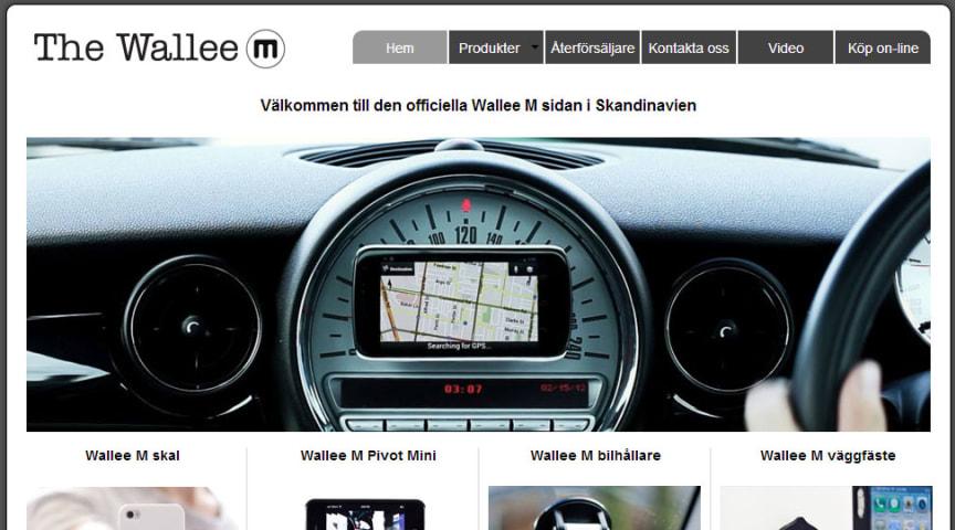 Vendora Nordic lanserar ny officiel sajt för Wallee M