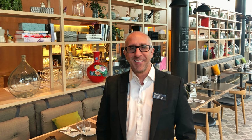 Andreas Ericson, Food & Beverage Manager på Quality Hotel Globe