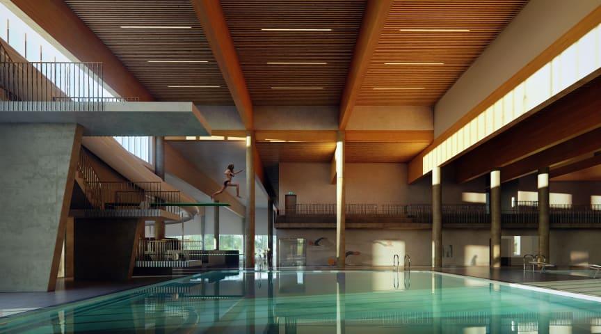 Orkdal folkehelsesenter er verdens første energipositive bade- og fritidsanlegg