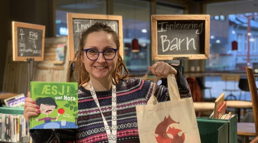Deichman og Foreningen!les gir bok og boknett til alle to-åringer og deres familie i 2020. Sylwia Stasiak (Deichman Tøyen) er prosjektlederen som gleder seg til å bidra til småbarnas språkutvikling.