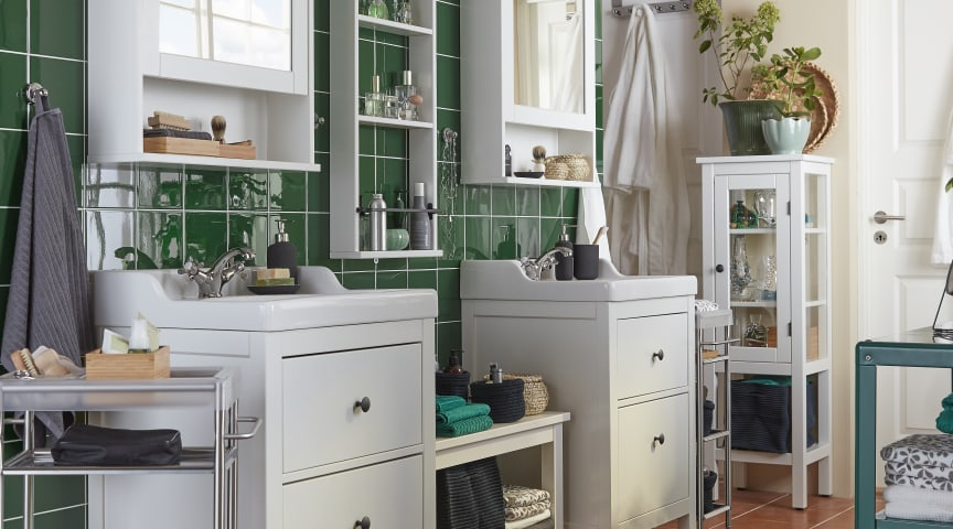 Optimise your Bedroom and Bathroom storage with IKEA
