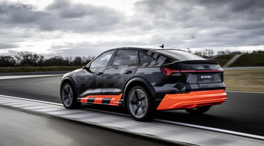 Audi præsenterer ny drivlinje på e-tron S modeller