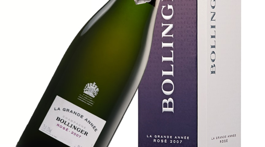 Bollinger La Grande Année Rosé Brut 2007