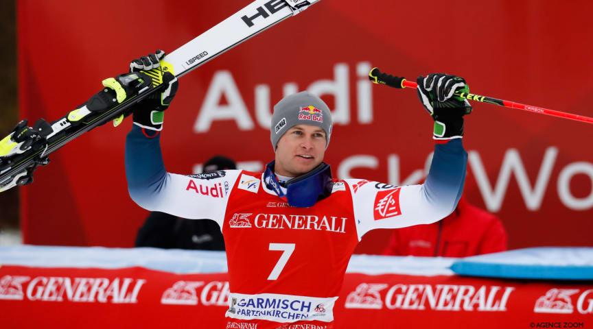 Alexis Pinturault mit neu gebautem Ski zum Erfolg