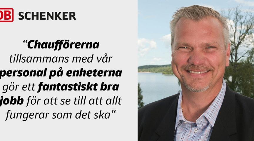 Leif Sundberg, Head of Collection & Distribution, Land Transport