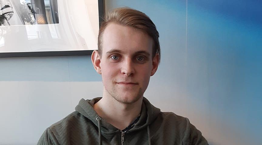 Fredrik Strömberg, examensjobb LCA hos Thermotech