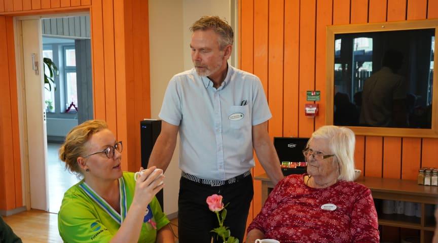 Månstorps Ängar firade sitt nya avtal som profilboende Demensby
