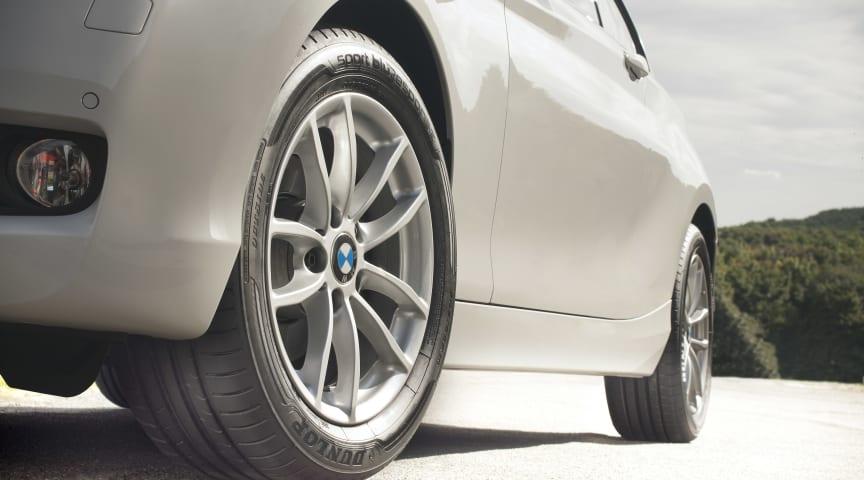 Dunlop lanserar högprestandadäck med imponerande betyg i EU:s däckmärkning