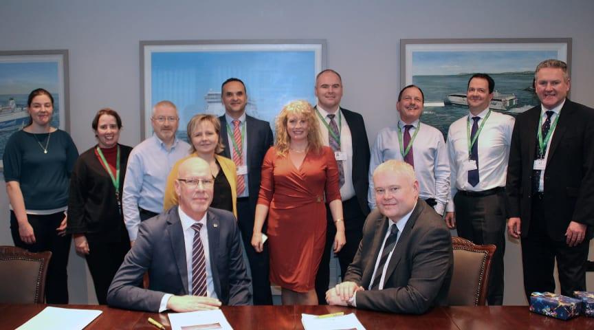 Irish Ferries väljer Hogia Ferry Systems