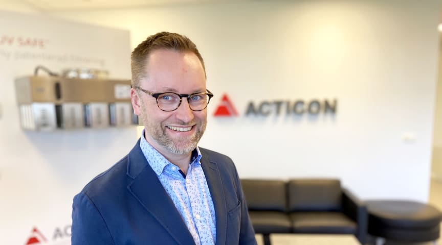 Tommy Kreivi Sandell, ny VD på Acticon. Foto: Karin Claesson