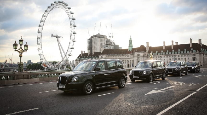 NIRA Dynamics will deliver TPMS to London Taxi's classic black taxis