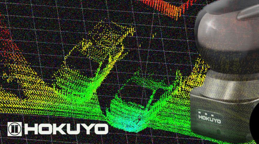 Med 3D laserscanner YVT fra Hokuyo får du en alsidig og kompakt scanner, der kan anvendes i mange forskellige typer applikationer - typisk i udendørs miljøer