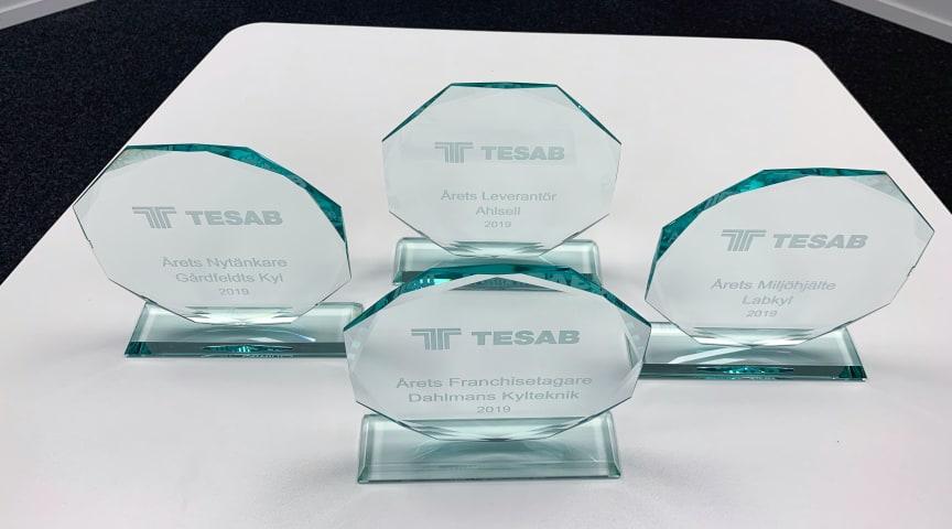 Årets pristagare i TESAB