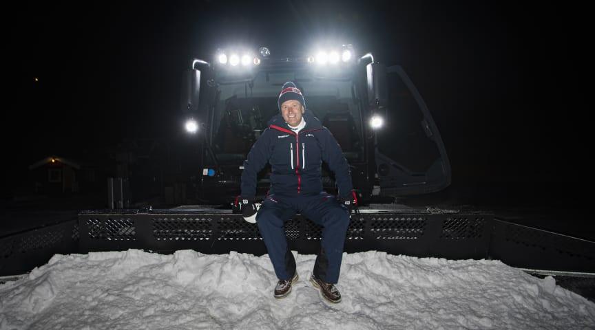 SkiStars nya VD Stefan Sjöstrand. Foto: SkiStar