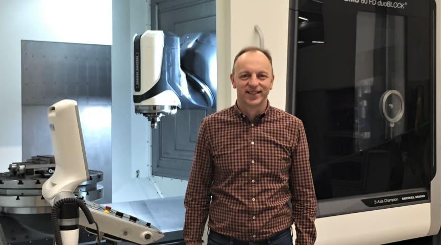Adnan Agic har fördjupat sig inom ett angeläget forskningsområde i rollen som industridoktorand på Seco Tools.
