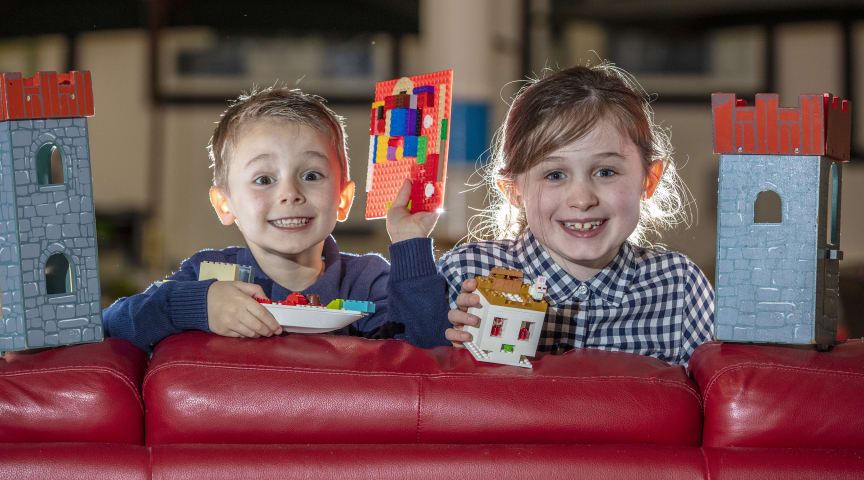 Brick Built is coming to Carrickfergus and its FREE for all the family to get involved.