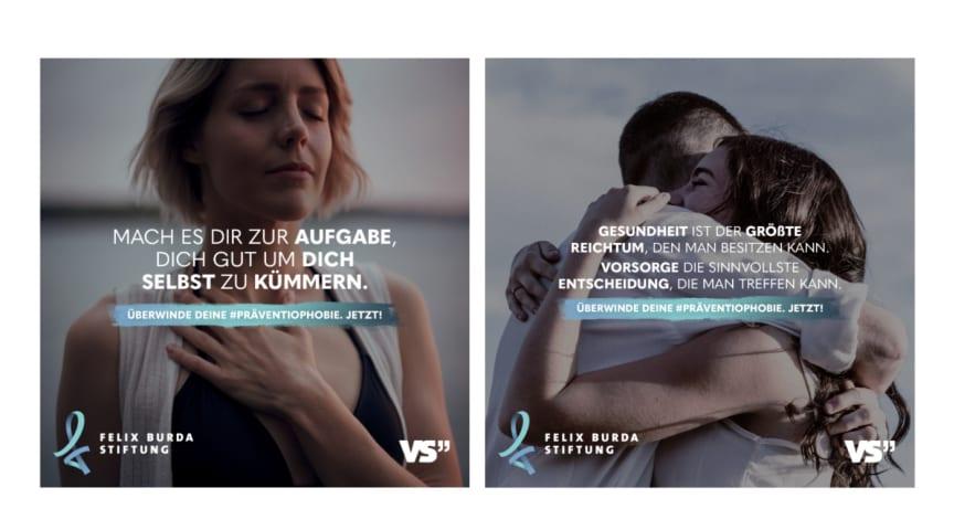 Motive der aktuellen VS-Kampagne