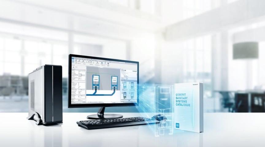 Geberit BIM-Katalog-plugin til Autodesk Revit:  Det nye plugin til BIM giver fagfolk direkte adgang til BIM-indhold fra Geberit.