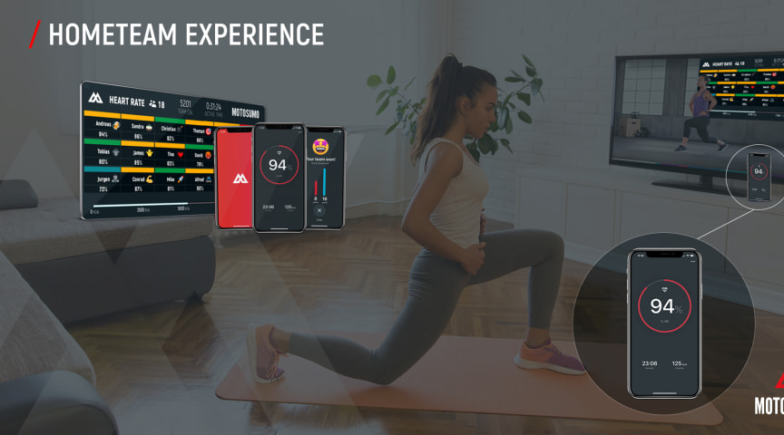 HomeTeam brings HIIT group workouts and indoor cycling classes to your living room.