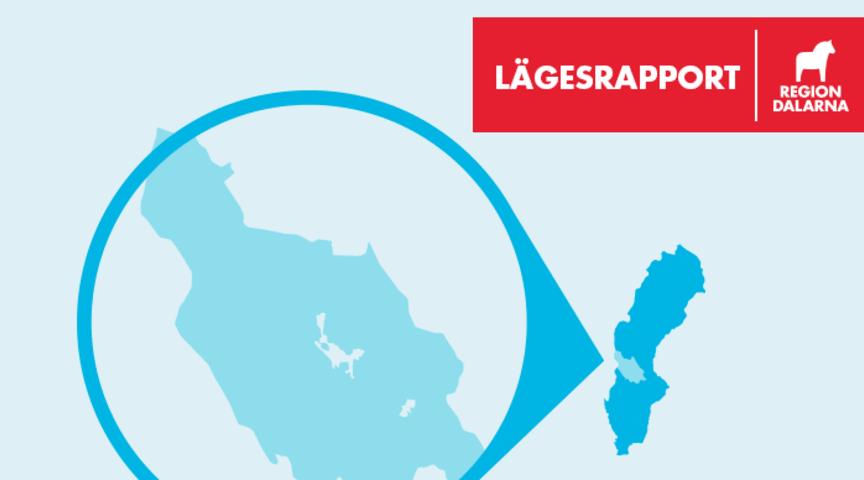 Region Dalarna publicerar varje vardag efter klockan 14:00 en lägesrapport om den aktuella covid-19-situationen i länet på vår officiella webbplats regiondalarna.se.