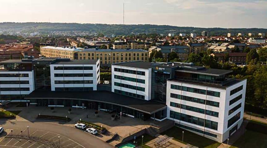 Science Park Skövde, Portalen, Kanikegränd 3B. Ingång längst till höger. Foto: Sebastian Bularca