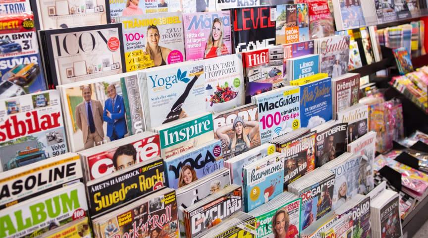 Lösnummerförsäljning av tidskrifter ökade med 2,1 procent under december 2019, jämfört med samma period 2018.