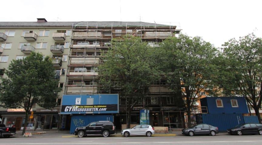 Stambyte och fasadrenovering Brf Killingen 39