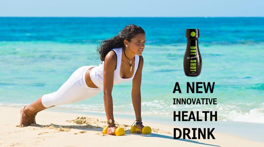 Dot Shot har enorm potential på Europa och USA marknaden-första flytande gurkmeja drycken