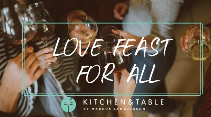 Krossa chokladhjärtan på Kitchen & Table Kungsholmens alla-hjärtans-dag firande för alla!