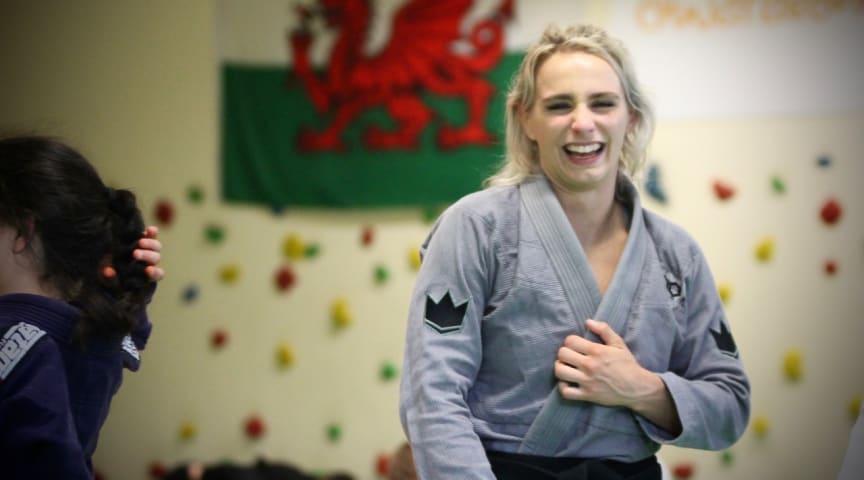 Welsh BJJ wizard and multiple world champ Ffion Davies will attend the 2019 UKBJJA International Open