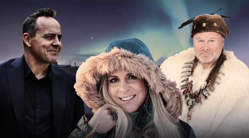 En oförglömlig kväll i ett snöigt landskap tillsammans med musiker från norra Sverige.