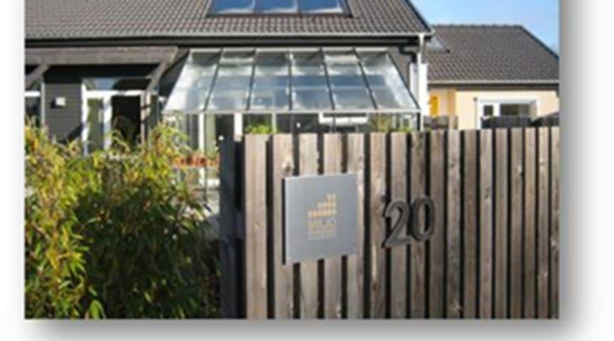 Den första miljöklassade villan