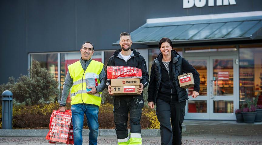 Würth Svenska AB öppnar butik i Växjö
