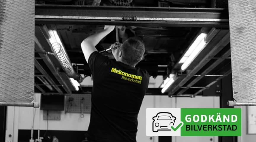 Högst antal Godkänd bilverkstad kommer från Mekonomens verkstadskoncept.