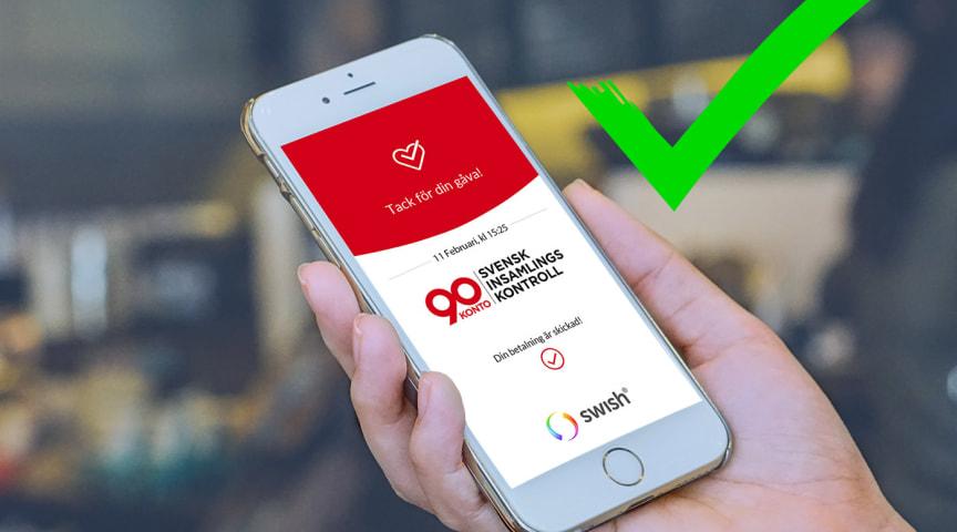 Föreningen Medveten Konsumtion Sverige har beviljats 90-konto