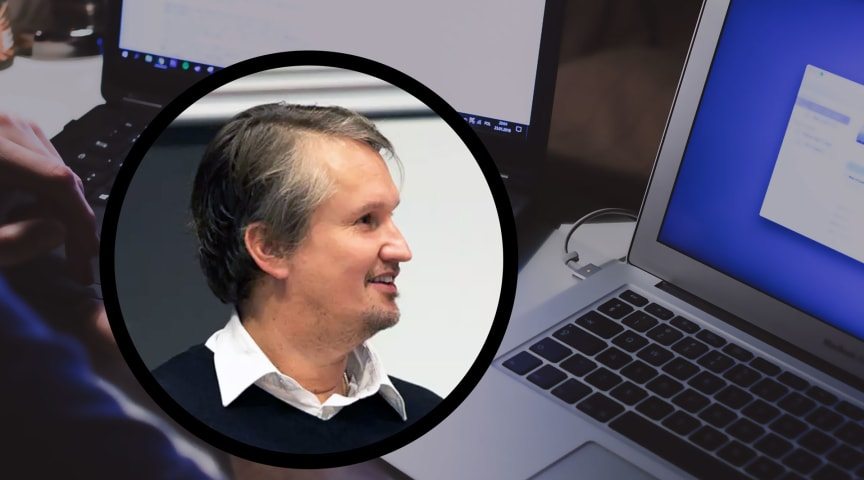 Certifierad Verksamhetsutvecklare Anders Boson driver ett av Lantmäteriets digitaliseringsprojekt.