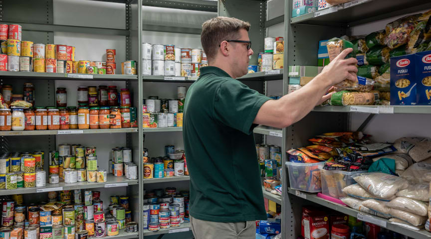 Foodbanks accepting donations to help those in need