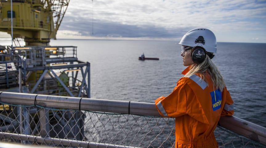 Telia, Tampnet og CGI tar IoT offshore, og Brage-plattformen blir første i verden med NB-IoT-dekning.