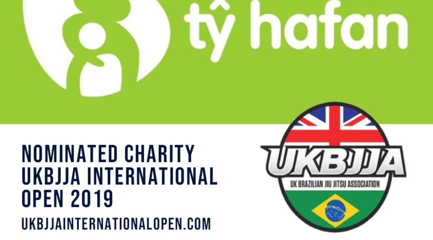 UKBJJA is raising money for Ty Hafan Children's Charity at the 2019 International Open Brazilian Jiu Jitsu Tournament