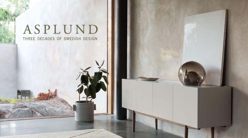 ASPLUND Three Decades of Swedish Design