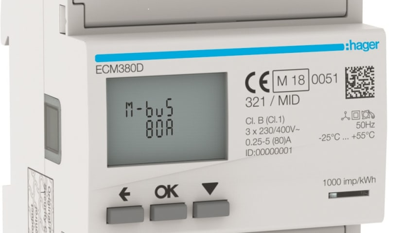 Energimätare ECM380D