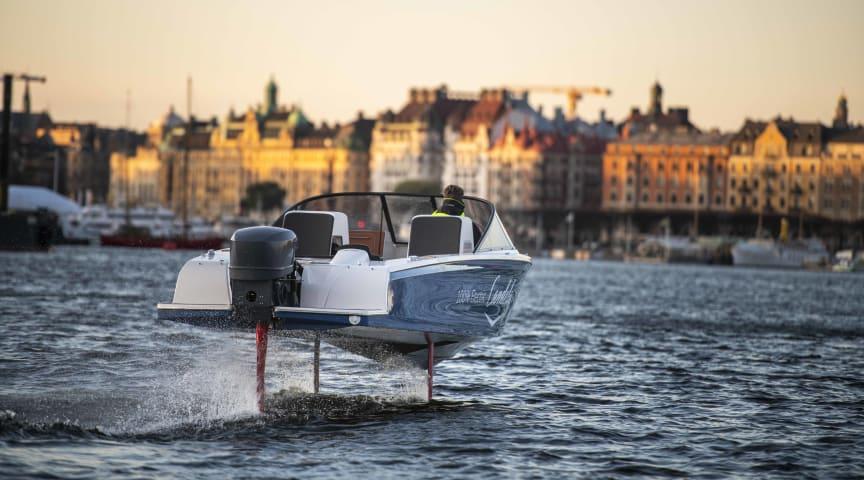 Elbåtar på Allt för Sjön: Svenska, flygande Candela Seven är framtiden för motorbåtar