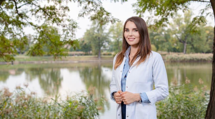 Zuzanna Podgórska har under flera år arbetat som radonspecialist vid Polens centrallaboratorium för strålskydd. Hon arbetar även med en avhandling om geologisk kartläggning av radon.