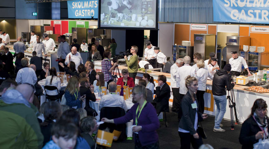 Turning up the heat at GastroNord and Vinordic