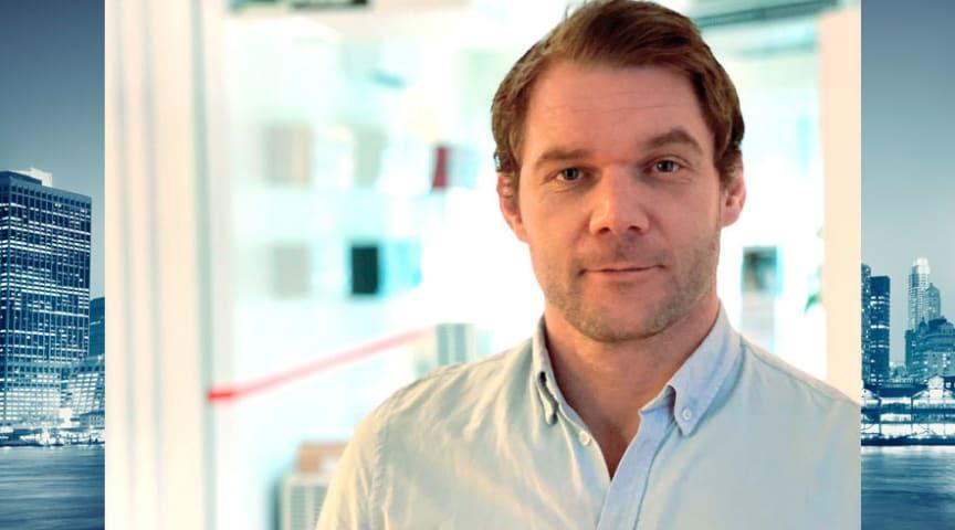 Andreas Axh, ny systemdesigner på Mitsubishi Electrics Professionell, MelPro.