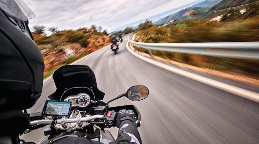 Garmin lancerer den helt nye motorcykelnavigator, zūmo® XT
