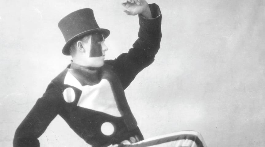 Jean Börlin, Skating Rink 1922. Foto: Dansmuseets arkiv