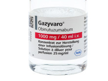 Gazyvaro▼godkänt i EU som ny behandling vid tidigare obehandlad follikulärt lymfom