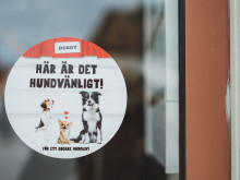Premiär för Hundvänlig skyltning – ett initiativ som gör det enkelt att ta med hunden på restaurang